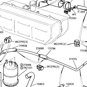 FUEL SYSTEM Evaporative Loss Control (USA only)