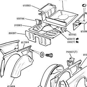 BODY PANELS Rear Floor, rear Wings, rear Outer Wings, inner wings , wheel arches & boot floor