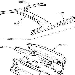 BODY PANELS Rear Deck & rear Valance