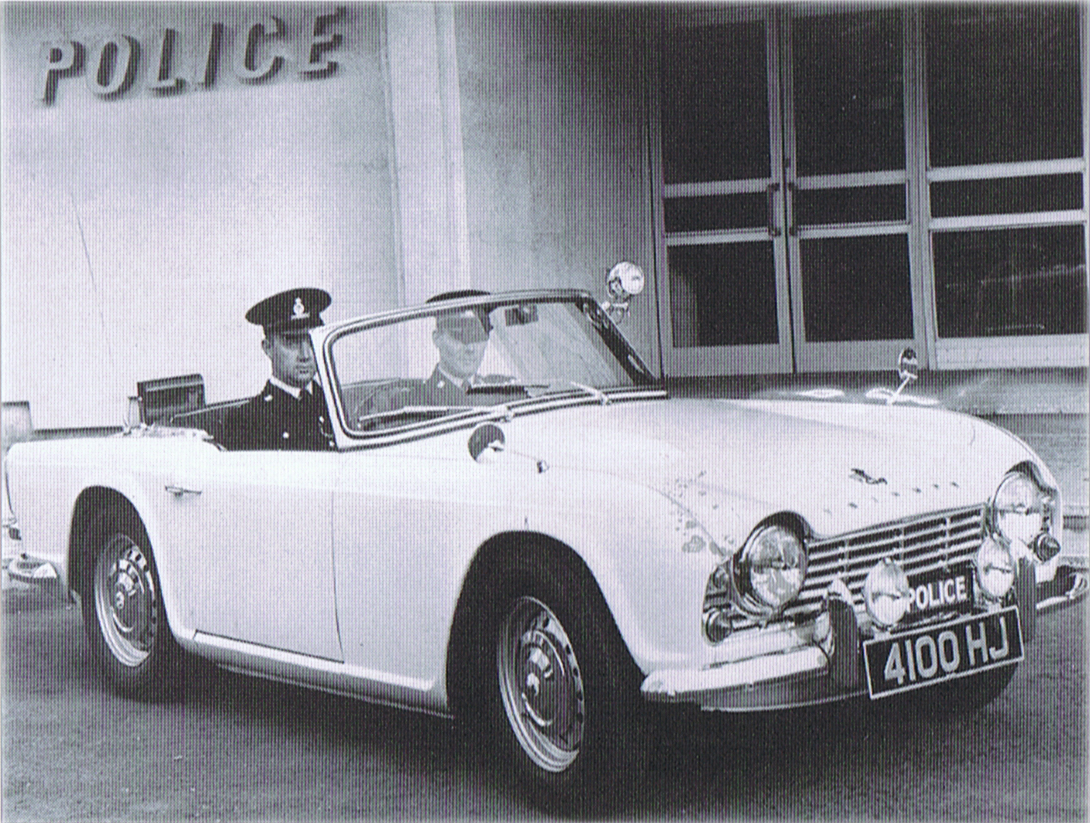 Revington TR - News: The TR4 Police Car - Neil reports on