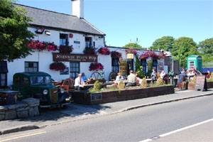 Johnny Fox's pub in the Wicklow Mountains