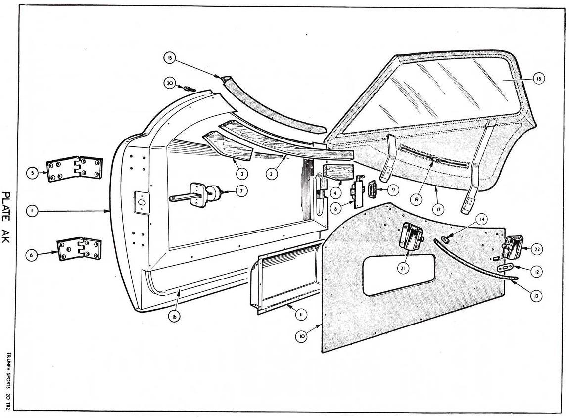 revington tr - tr3 plate ak