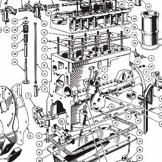 ENGINE: CYLINDER BLOCK AND HEAD