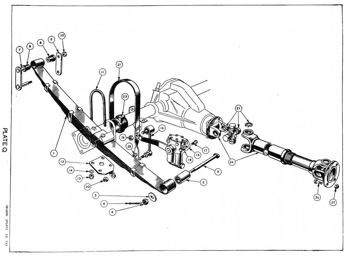 revington tr - tr3 plate q