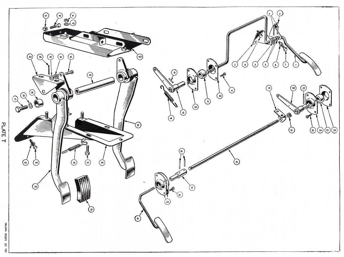 revington tr - tr3 plate t