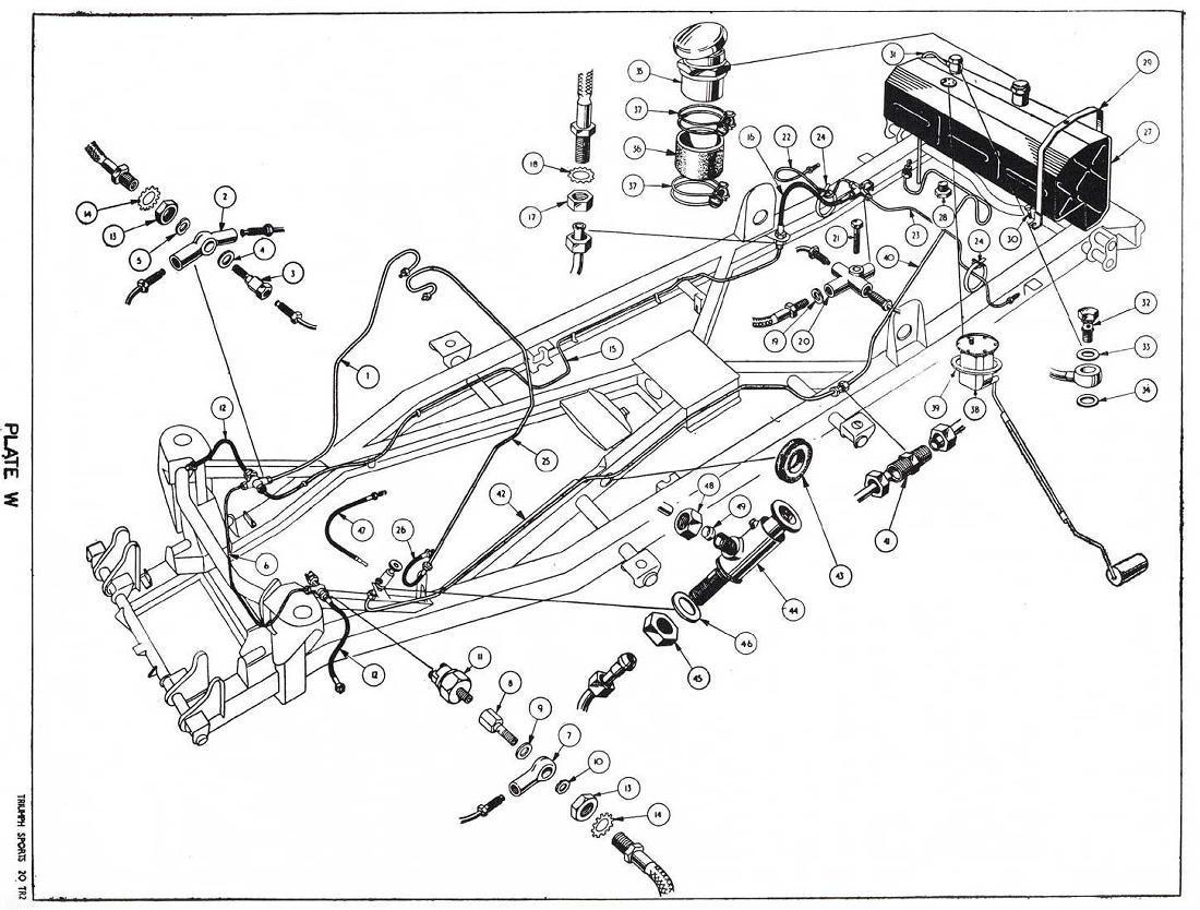 revington tr - tr3 plate w