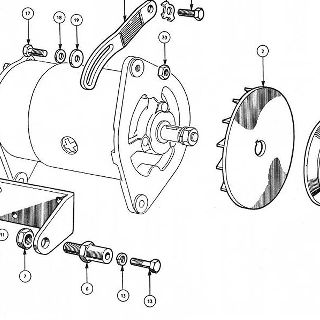 ENGINE: DYNAMO MOUNTING AND IGNITION (Not illustrated).