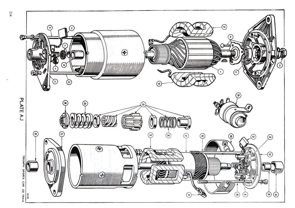 triumph tr6 vacuum diagram
