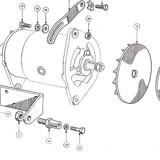 83 m.m. and 86 m.m. ENGINE: DYNAMO MOUNTING AND IGNITION (Not illustrated).