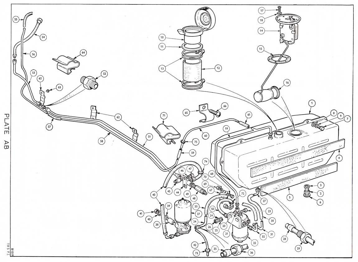 revington tr - tr5 plate ab