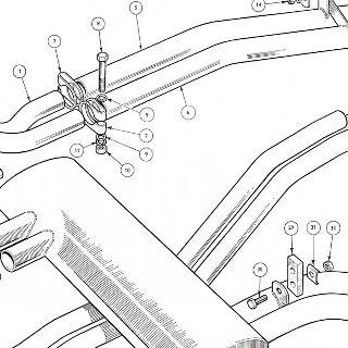 Exhaust Gasket For Triumph TR4A TR5 /& TR6 GEG724
