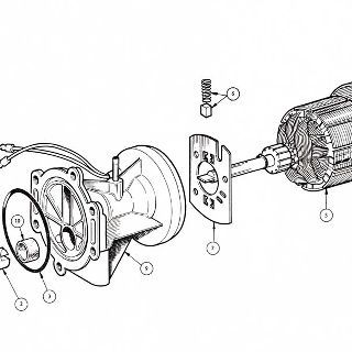 ELECTRICAL EQUIPMENT: FUEL PUMP AND MOTOR ASSEMBLY