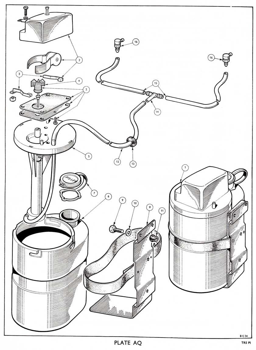 revington tr - tr5 plate aq