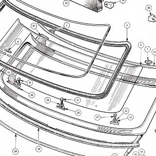 BODY AND FITTINGS: WINDSCREEN ASSEMBLY, MIRROR AND SUN VISORS