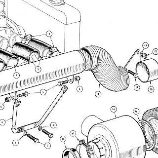 ENGINE: AIR MANIFLOLD AND AIR CLEANER ASSEMBLIES