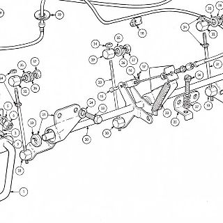 ACCELERATION CONTROL: ACCELERATOR PEDAL, COUNTERSHAFT AND CHOKE CONTROL