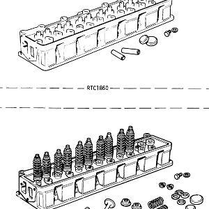 ENGINE (CARB MODELS) Cylinder Head Assembly
