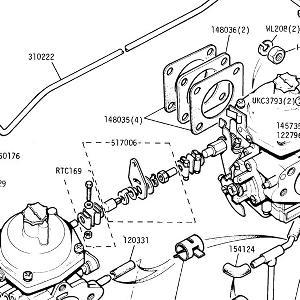 ENGINE (CARB MODELS) Carburettor Assemblies