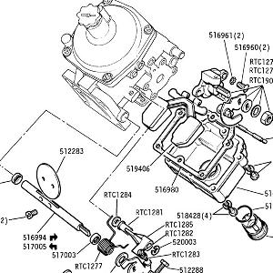 CARBURETTORS Throttle Spindle and Float Chamber Details