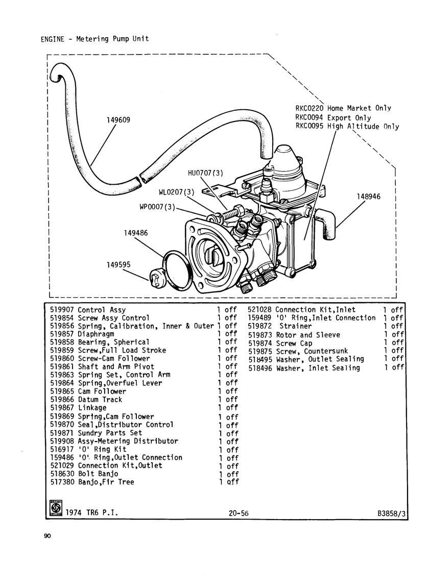 revington tr - tr6cr plate 20-55