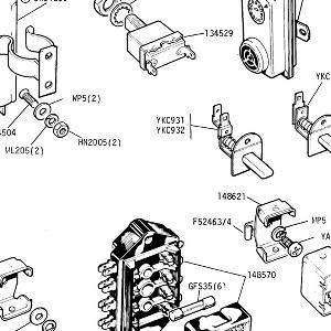 ELECTRICAL MISCELLANEOUS EQUIPMENT Relays, fuse box, flasher unit, door/ brake switches & Inertia Cut Out Switch