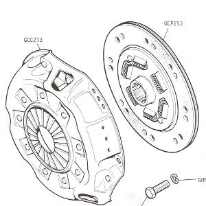 CLUTCH - Clutch Cover and Driven Plate