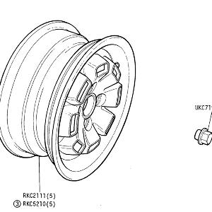 SUSPENSION - Road Wheels (Cast Alloy)