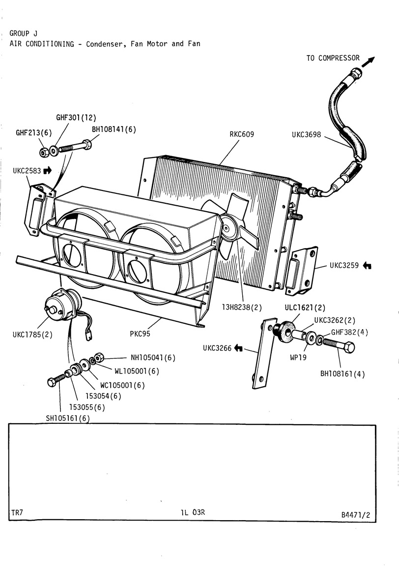 revington tr - tr7 plate 1l-03r