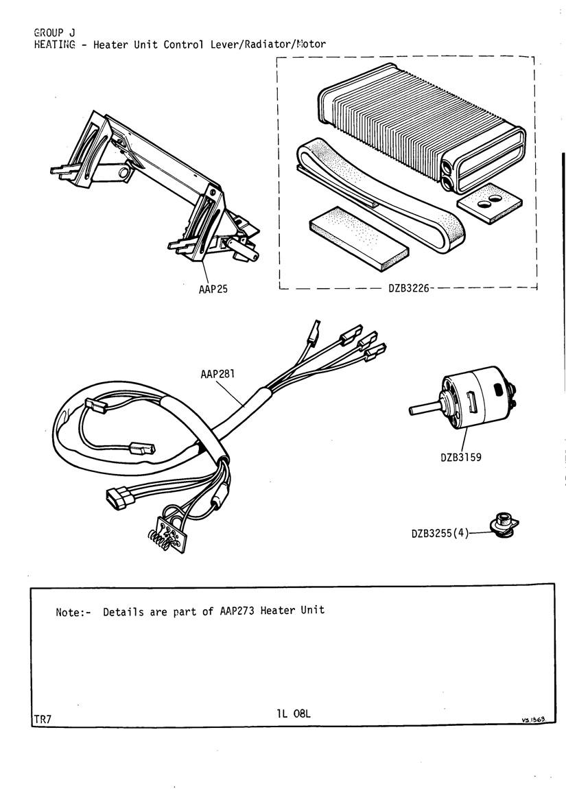 revington tr - tr7 plate 1l-08l - heating