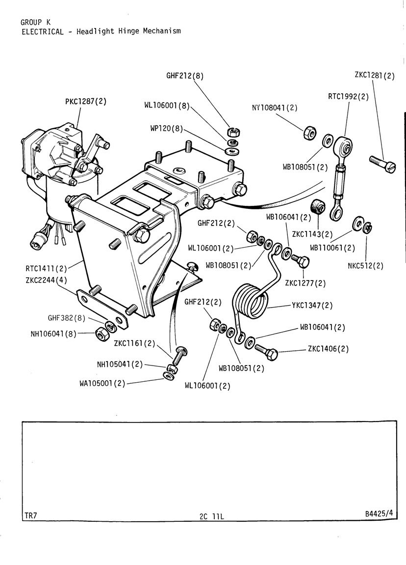 Peachy Tr7 Headlight Wiring Diagram Wiring Library Wiring Cloud Rectuggs Outletorg