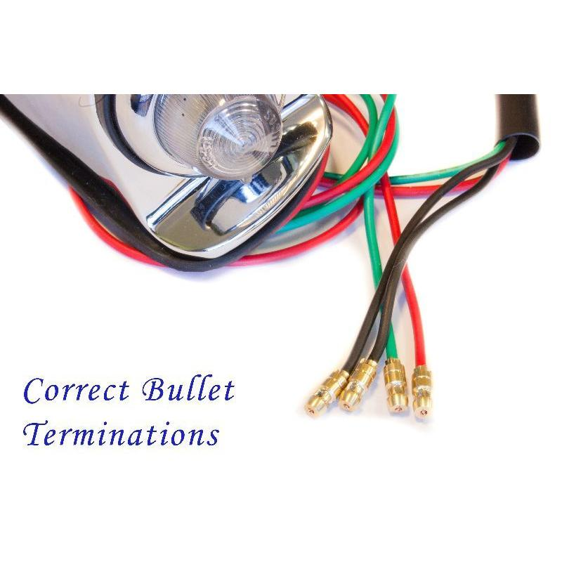 Correct Bullet Terminations