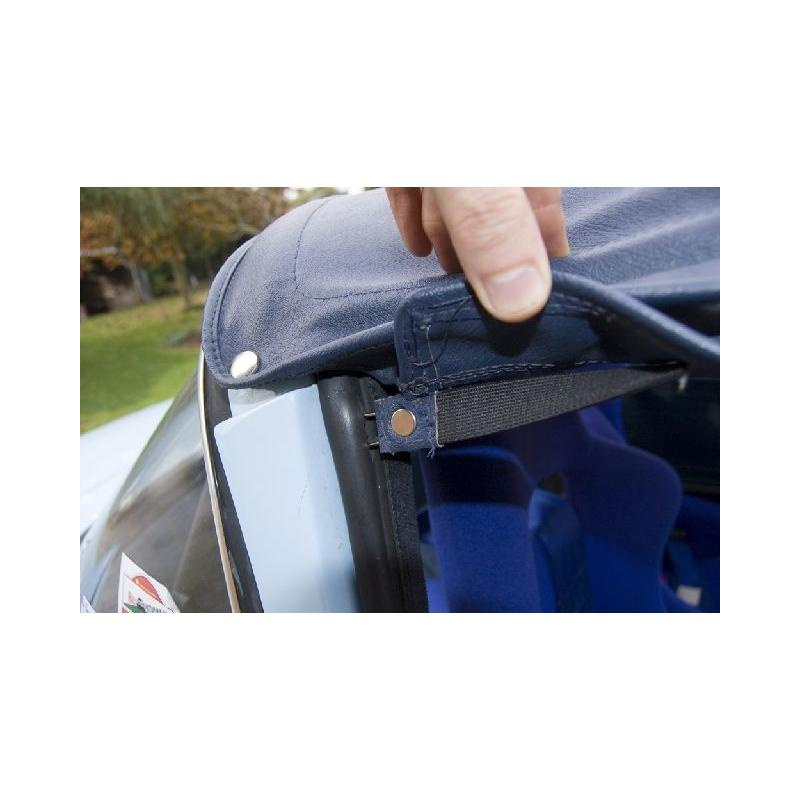Rear Window Flap Retainer