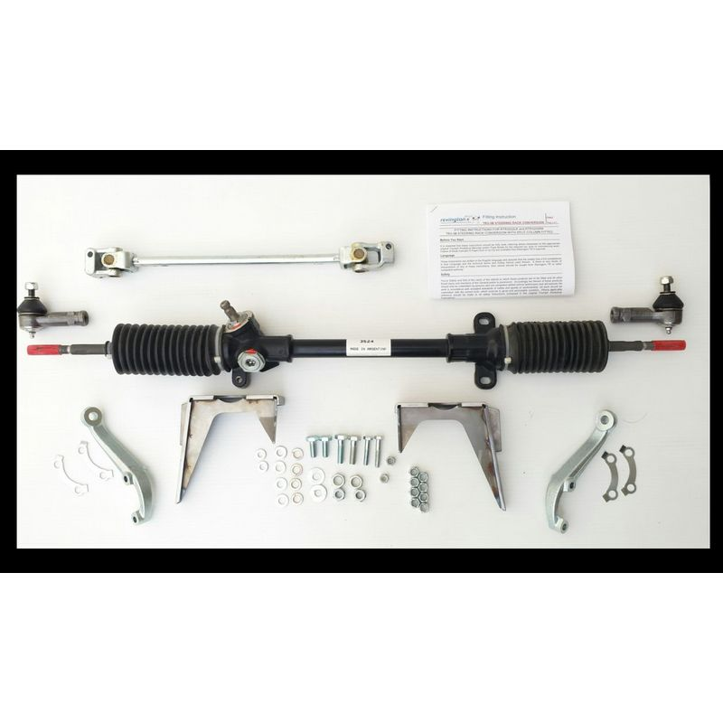 RTR3202L-1K Steering rack kit. RHD view shown for reference